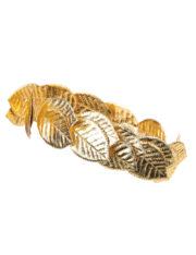 couronne de laurier, déguisement romain, déguisement romaine, couronne de feuilles de laurier romaine, déguisement jules césar, déguisement cleopatre, couronne de laurier Couronne de Lauriers Dorés