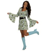 déguisement disco femme, déguisement années 70 femme, tunique disco femme déguisement, déguisement disco femme pas cher, déguisement disco paris, robe disco pour femme déguisement Déguisement Disco Groovy 70, Robe Waves