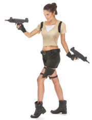 lara croft, déguisement lara croft adulte, déguisement laracroft femme, déguisement lara croft pour femme Déguisement Aventurière Lara