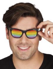 lunettes arc en ciel, accessoire gay pride, gaypride, LGBT, lunettes multicolores, lunettes arc en ciel, accessoire arc en ciel Lunettes Arc en Ciel