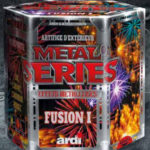 feux d'artifice automatiques, achat feux d'artifice paris, feux d'artifices compacts, feux d'artifices ARDI, feux d'artifice pas cher, feux d'artifices pour particuliers Feux d'Artifices, Compacts, Metal Séries Fusion 1