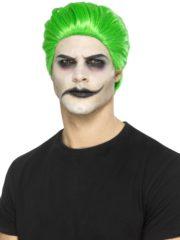 perruque joker, perruque verte de joker, perruque the joker, perruque de joker verte Perruque Joker, Verte, Cheveux en Arrière