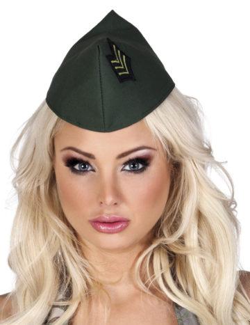 calot militaire, accessoire militaire déguisement, coiffe militaire, chapeau militaire femme, accessoire déguisement militaire Calot Militaire