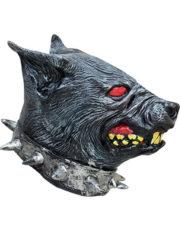 masque de chien, masque de bouledogue, masque de déguisement, masque animaux, accessoire déguisement animaux, masque d'animal déguisement, masques d'animaux déguisement, se déguiser en animal, masque halloween Masque de Chien Enragé, Latex