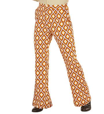 soirée disco, déguisement disco, pantalon pattes d'eph, pantalon disco, pantalon pattes d'éléphant, pantalon années 70 homme, pantalon homme disco Déguisement Disco, Pantalon Groovy, Rhombus H