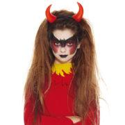 cornes de diable enfant, déguisement diable enfant, déguisement halloween enfant, accessoire diable déguisement enfant, diable enfant Cornes de Diable Rouges, Enfants