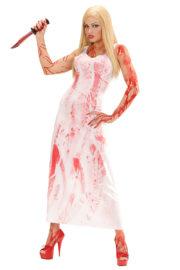 déguisement halloween femme, déguisement sanglant femme halloween, déguisement carrie halloween, déguisement bloody mary halloween Déguisement Bloody Mary Zombie