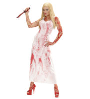 déguisement halloween femme, déguisement sanglant femme halloween, déguisement carrie halloween, déguisement bloody mary halloween Déguisement Bloody Mary Zombie