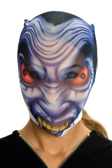 cagoule halloween, cagoule transparente halloween, cagoule monstre halloween Cagoule d'Alien Halloween