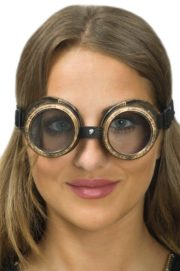 lunettes steampunk, accessoire steampunk, lunettes halloween, lunettes steampunk halloween Lunettes Steampunk, Acier Vieilli Doré