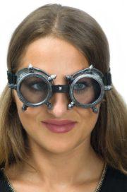 lunettes steampunk, accessoire steampunk, lunettes halloween, lunettes steampunk halloween Lunettes Steampunk, Acier et Pointes