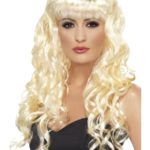 perruque sirène femme, perruque blonde femme, perruque cheveux longs blonds, perruque cheveux ondulés, perruque blonde pour femme, perruque de sirène Perruque Sirène, Blonde