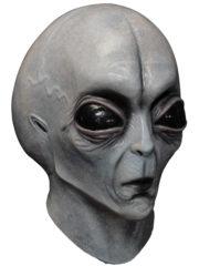 masque alien, masque d'alien, accessoire déguisement alien, masques halloween, masque halloween latex, masque futuriste, déguisement futuriste alien Masque d'Alien, Intégral, en Latex