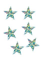 décorations de noël, décos de noël, décorations de réveillon, confettis de table, confettis étoiles Confettis de Table, Etoiles Hologrammes Bleu Ciel