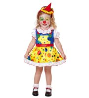 déguisement de clown pour enfant, déguisement de clown fille, costume de clown fille, costume de clown petite fille Déguisement de Clown Baby, Fille