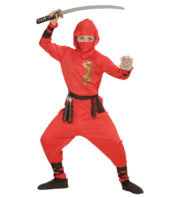déguisement de ninja garçon, costume de ninja pour enfant, déguisement de ninja enfant, costume de ninja garçon, déguisement de ninja Déguisement de Ninja, Rouge, Garçon