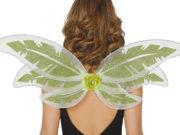 ailes de fée, ailes vertes, ailes de fée clochette, ailes de déguisement, ailes vertes déguisement de fée, accessoire fée déguisement Ailes de Fée Vertes, Paillettes Glitter