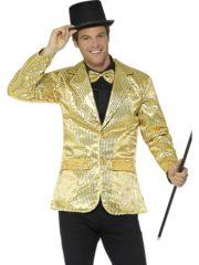 veste à paillettes, veste disco, veste disco à paillettes, déguisement disco à paillettes, veste paillettes dorées Déguisement Disco, Veste à Paillettes Dorées
