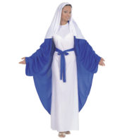 déguisement de marie, déguisement de sainte vierge, déguisement de madone, déguisement de noël femme, déguisement de vierge marie Déguisement de Marie, Sainte Vierge