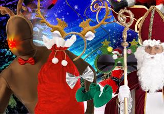 Soirée déguisement déco Accessoires de Noël et Jour de l'An