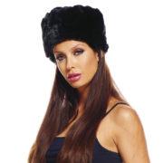 toque russe, chapeau russe, accessoire russe déguisement, chapka russe déguisement, chapeau fausse fourrure Chapeau Toque Russe, Fausse Fourrure Noire