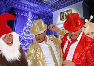 Soirée déguisement déco Chapeaux de Noël et Jour de l'An