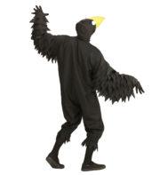 déguisement de corbeau, déguisement d'oiseau, costume d'oiseau, déguisement de corbeau pour adulte, déguisement d'oiseau noir, costume d'oiseau homme, costume d'oiseau femme, déguisement d'oiseau pour homme Déguisement d'Oiseau Noir, Corbeau à Bec Jaune