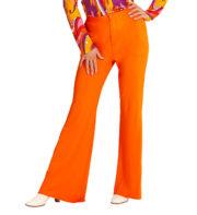 déguisement soirée disco, déguisement disco, pantalon pattes d'eph, pantalon disco, pantalon pattes d'éléphant, pantalon années 70 femme, pantalon femme disco Déguisement Disco, Pantalon Groovy, Orange F