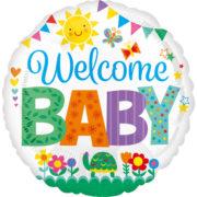 ballon hélium, ballon naissance, ballon bébé fille, ballon bébé garçon, ballon babyshower Ballon Aluminium, Naissance Bébé Fille ou Garçon