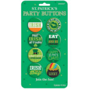 badges saint patrick, accessoires saint patrick, déguisements saint patrick, pins saint patrick, trefles saint patric Badges Saint Patrick, Irish for Ever