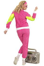 déguisement années 80 femme, déguisement survet disco, déguisement véronique et davina, déguisement années 80 femme, déguisement années jogging années 80, déguisement pour soirée années 80 Déguisement Années 80, Shell Suit Rose, Femme