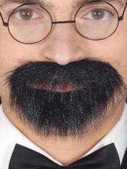 fausse barbe, fausses moustaches, postiche, barbe postiche, fausse barbe de déguisement, postiches barbes Barbe Noire, Bouc avec Moustache