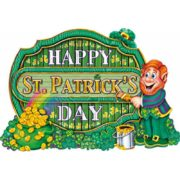 décoration saint patrick, décor saint patrick, décoration happy saint patrick Décor Happy Saint Patrick, Carton, 40 cm