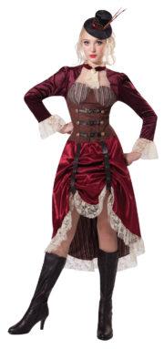 robe steampunk, déguisement steampunk femme, costume steampunk adulte, costume steampunk adulte Déguisement Steampunk, Luxe
