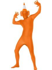 déguisement seconde peau, déguisement second skin, combinaison seconde peau déguisement, seconde peau orange Déguisement Seconde Peau, Second Skin, Orange