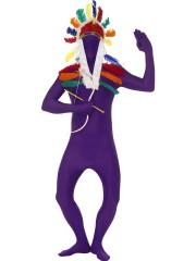 déguisement seconde peau, déguisement second skin, combinaison seconde peau, déguisement seconde peau violette Déguisement Seconde Peau, Second Skin Violette