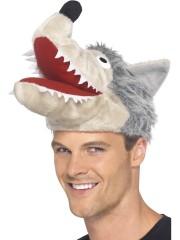 chapeau loup, chapeaux de loups, accessoires déguisement de loup, chapeaux animaux Chapeau de Loup