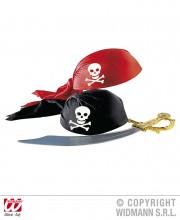 coiffe de pirate, chapeau de pirate, accessoire déguisement de pirate, chapeaux de pirates Coiffe de Pirate