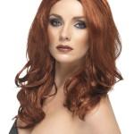 perruque pour femme, acheter perruque femme à paris, perruque de déguisement, perruque pas cher, perruque ondulée, perruque rousse, perruque superstar Perruque Superstar, Rousse