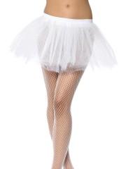 tutu blanc, tutu de danseuse, déguisement tutu, accessoire déguisement tutu, accessoire tutu déguisement Tutu en Tulle et Résille, Blanc