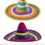 sombrero mexicain, chapeaux sombreros mexicains, accessoires déguisement mexicain, poncho et sombrero mexicain, soirée à thème mexique Sombrero Mexicain
