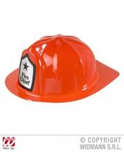 casque de pompier, casque de pompier en plastique, accessoires déguisement de pompier Casque de Pompier