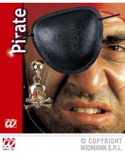 cache oeil de pirate, accessoire déguisement pirate, bandeau pirate déguisement, cache oeil déguisement pirate, accessoire déguisement, accessoire pirate Cache Oeil de Pirate, Boucle d'Oreille