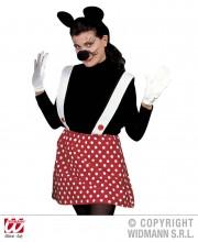 kit minnie mouse, accessoire déguisement minnie, accessoire minnie déguisement, oreilles de minnie, oreilles de mickey déguisement Kit Miss Minnie Mouse