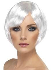 perruque pour femme, acheter perruque femme à paris, perruque de déguisement, perruque pas cher, perruque blanche, perruque babe Perruque Babe, Blanche
