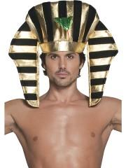 coiffe de pharaon, chapeau de pharaon, accessoire déguisement pharaon, coiffe égyptienne paris Chapeau de Pharaon