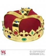 couronne royale,couronne de roi, couronne de reine, accessoires déguisement de roi, accessoires déguisement de reine, couronne royale avec pierres Couronne Royale