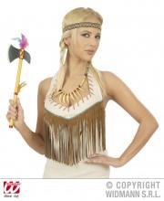 collier indien perles déguisement, collier indien perles, accessoires d'indien, collier de déguisement, accessoires indienne pas cher, bijoux indiens, faux bijoux pour indiens, collier indien déguisement, collier déguisement d'indien Collier Indien, Perles et Os