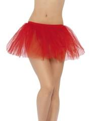 tutu de danseuse, déguisement tutu, accessoire déguisement tutu, accessoire tutu déguisement, tutu rouge, tutu rouge déguisement Tutu en Tulle et Résille, Rouge