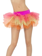 tutu de danseuse, déguisement tutu, accessoire déguisement tutu, accessoire tutu déguisement, accessoire déguisement fluo, accessoire déguisement disco, accessoire fluo déguisement, accessoire années 80 déguisement, accessoire déguisement années 80 Tutu, Multi Néon
